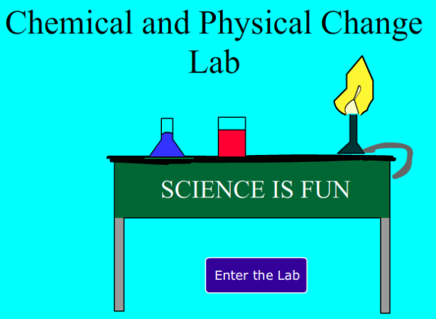 Chemical of Physical Change Lab. 5º E.P.